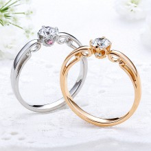 婚約指輪プリンセサ