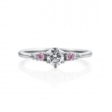 婚約指輪 KA24ピンクダイヤ