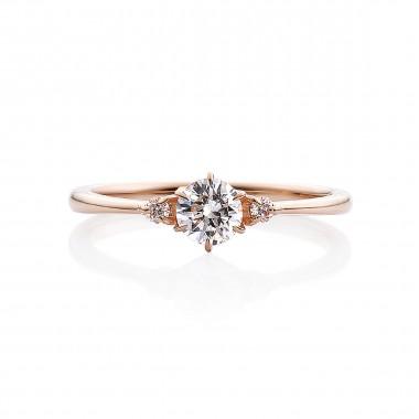 婚約指輪 KN4ピンクゴールド