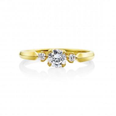婚約指輪 リバティーイエローゴールド