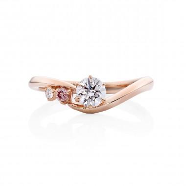婚約指輪 OK4ピンクゴールド