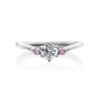婚約指輪 U5ピンクダイヤ