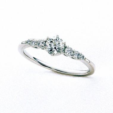 婚約指輪なでしこ
