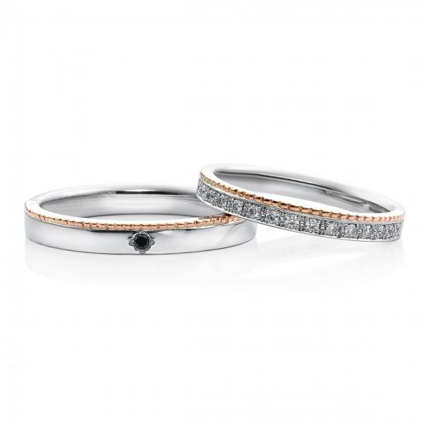 結婚指輪ツィード