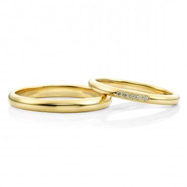 結婚指輪カラーYG