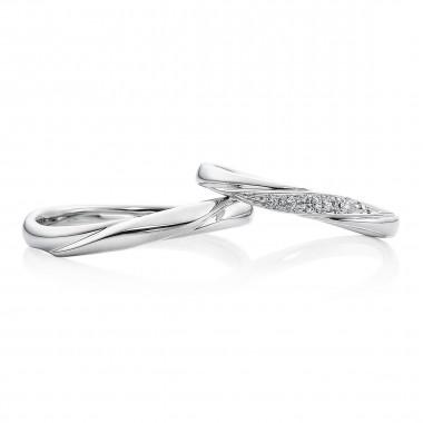 結婚指輪 羽衣