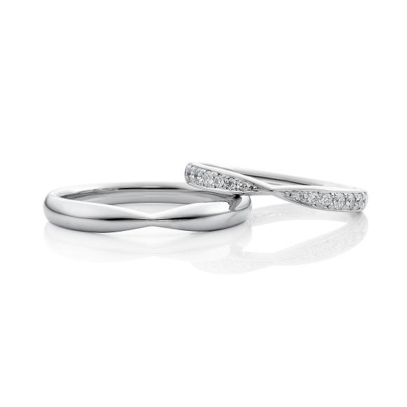 結婚指輪ファースト彫留