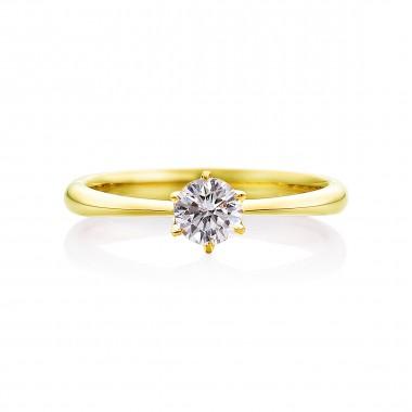 婚約指輪 K2イエローゴールド