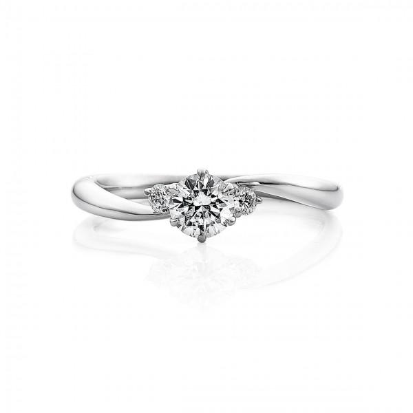 婚約指輪 美18