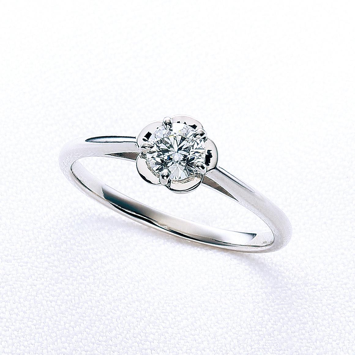 婚約指輪カプア