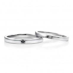 結婚指輪ラベンダー