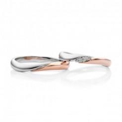 結婚指輪チェリーコンビ