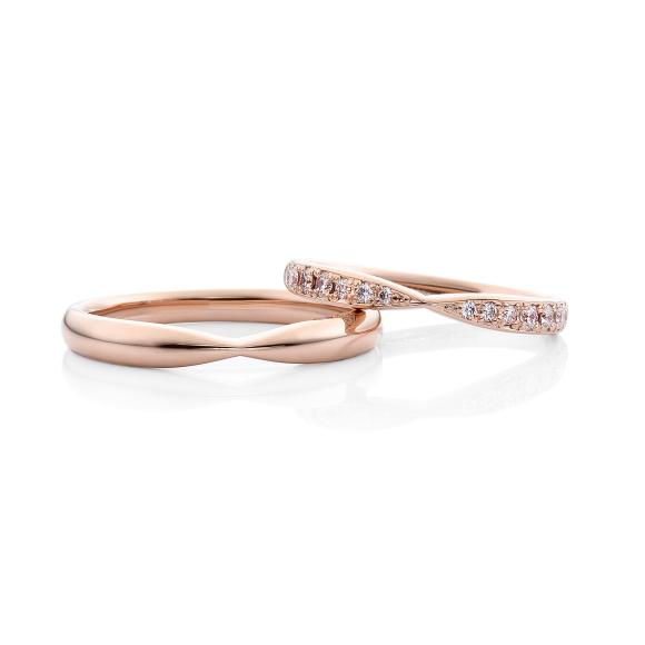 結婚指輪ファーストピンクゴールド