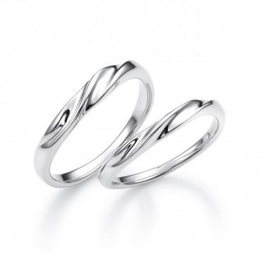 結婚指輪スノー2